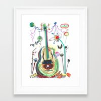 Encore Framed Art Print