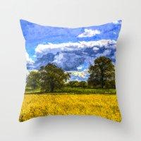The Arrival Of Summer Ar… Throw Pillow