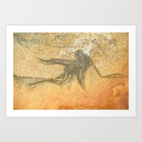 Natures Rock Art Art Print