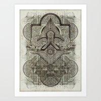 Second Chakra Art Print