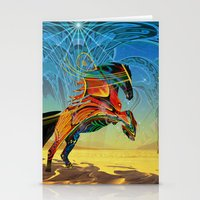 The Wind Of Time (Red Ho… Stationery Cards