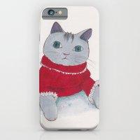 Cozy Cat iPhone 6 Slim Case