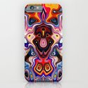 Faces In Abstract Shapes 1 iPhone & iPod Case