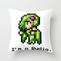 I'm A Rydia (not a Carrie) Throw Pillow