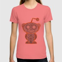 I'm Very Thankful For Al… Womens Fitted Tee Pomegranate SMALL