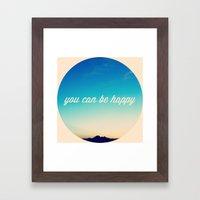 Remember Framed Art Print