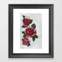 New Roses Framed Art Print