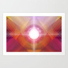 PRYSMIC ORBS Art Print