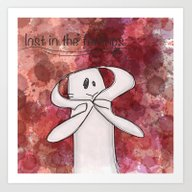 Art Print featuring Lost In The Feelings... by Nico