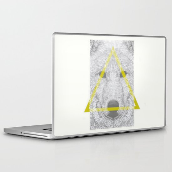 WOLF III Laptop & iPad Skin