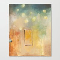 bird and open window Canvas Print