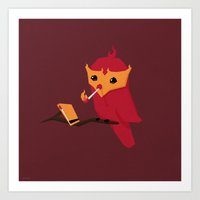Accidental Legends: Phoe… Art Print