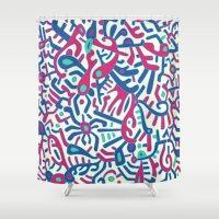 - summer sea jungle - Shower Curtain