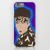 iPhone & iPod Case featuring Derek Zoolander by The Vector Studio