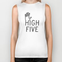High Five Biker Tank