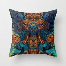 Magic Fairy Throw Pillow