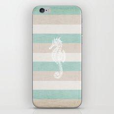 3 seahorses iPhone & iPod Skin