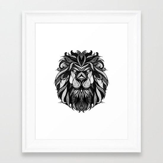 Signs of the Zodiac - Leo Framed Art Print