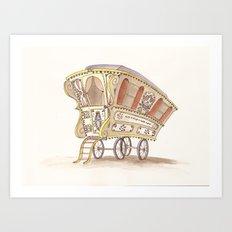 Caravans Art Print