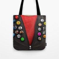 Badges Tote Bag