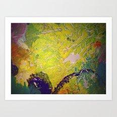 Blanket Detail II Art Print