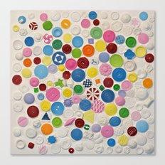Button Box Canvas Print