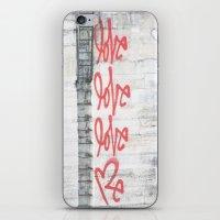 Love - Paris Graffiti Photography iPhone & iPod Skin