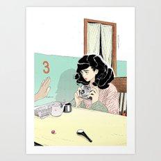 Bye Art Print