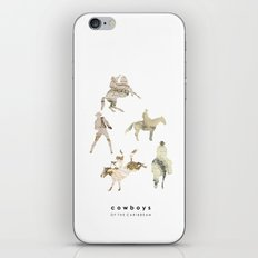 Cowboys of the Caribbean iPhone & iPod Skin