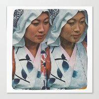 Twin Sister Canvas Print