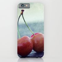 Cherry Kiss iPhone 6 Slim Case
