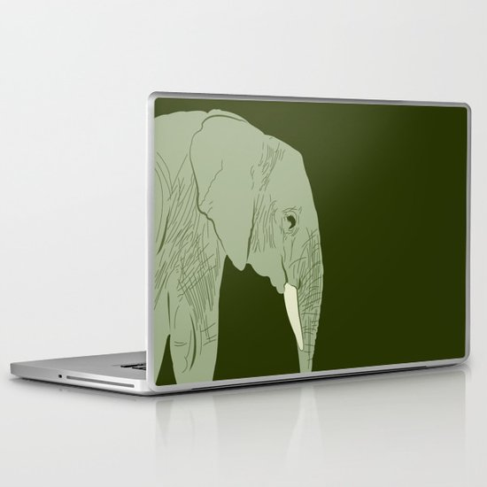 Ndovu : young SATAO Laptop & iPad Skin