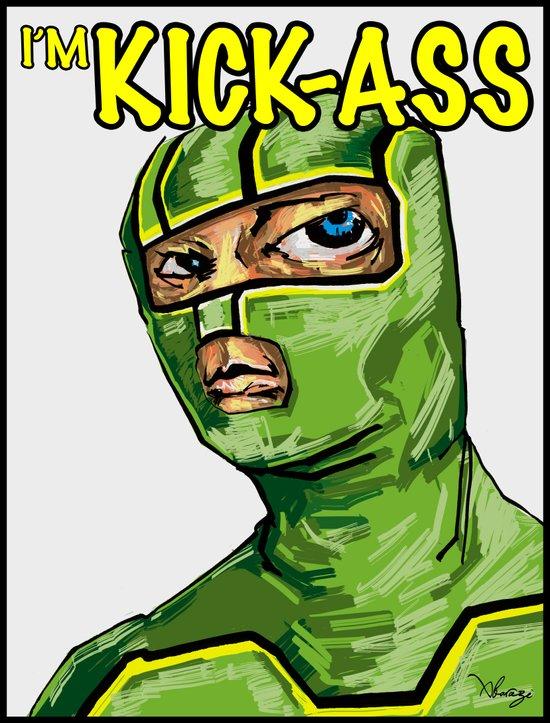 I'm Kick-ass! Art Print
