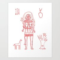 Wizardry Art Print