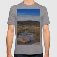 Sand Creek Mens Fitted Tee Athletic Grey SMALL