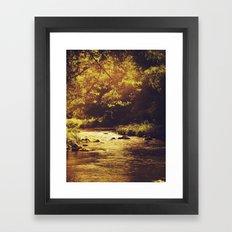 Go with the flow... Framed Art Print