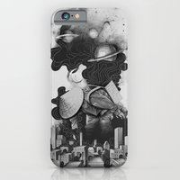 iPhone & iPod Case featuring The Night Gatherer by Kyle Cobban