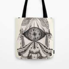 Thoughts Compass Tote Bag