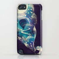 iPod Touch Cases featuring Dream Big by dan elijah g. fajardo