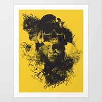 Abstract Thinking Art Print