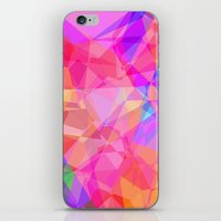 Color Fractal iPhone & iPod Skin