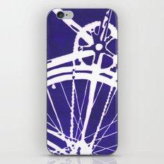 Blue Bike iPhone & iPod Skin
