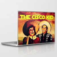 Laptop & iPad Skin featuring The Cisco Kid by Lazy Bones Studios