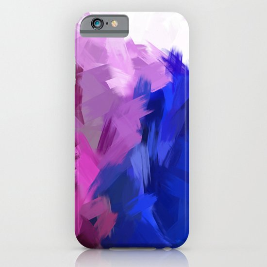 BLOSSOMS - PURPLE iPhone & iPod Case