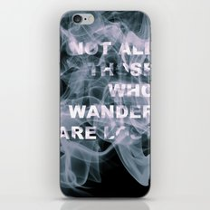 Smoke Quote iPhone & iPod Skin