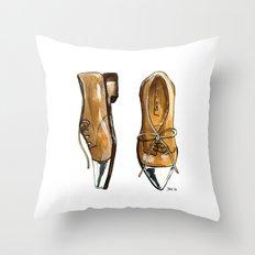 MK Oxfords Throw Pillow