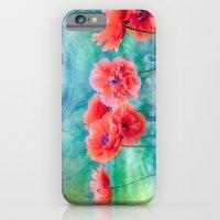 iPhone & iPod Case featuring Poppies by LudaNayvelt