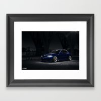 BMW 135i Framed Art Print