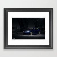 BMW 135i Framed Art Print