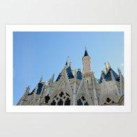 Cinderella's Castle I Art Print